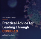 McChrystal Group Releases Practical Advice for Teams Leading Through COVID-19