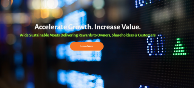 graphic showing accelerated growth and increased value